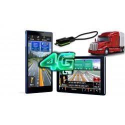 GPS НАВИГАЦИОННА СИСТЕМА ЗА КАМИОН С ТВ ТУНЕР LENOVO TB3-730X, 2 ПРОГРАМИ, 7 ИНЧА, ANDROID, WI-FI, 4G, BLUETOOTH