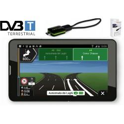 GPS НАВИГАЦИОННА СИСТЕМА ЗА КАМИОН DIVA QC-703GN, ТВ ТУНЕР, 2 ПРОГРАМИ, 3G, 7 ИНЧА, ANDROID, WI-FI, BLUETOOTH
