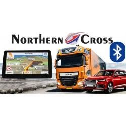GPS НАВИГАЦИОННА СИСТЕМА ЗА КАМИОН NORTHERN CROSS NC-712S EU FM BT AV IN LIMITED EDITION, BLUETOOTH, 800MHZ, 256MB RAM