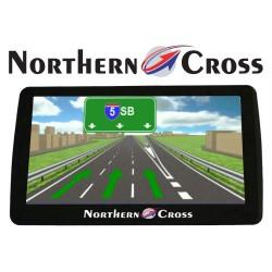 GPS НАВИГАЦИОННА СИСТЕМА NORTHERN CROSS NC-712S EU FM LIMITED EDITION, 7 ИНЧА, 5 ПРОГРАМИ, 800MHZ, 256MB RAM