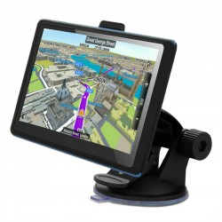 GPS НАВИГАЦИОННА СИСТЕМА ЗА КАМИОН MEDIATEK MK-666 FM EU, ПОСЛЕДНО ИЗДАНИЕ КАРТИ ЕВРОПА, ИНДУСТРИАЛНИ ЗОНИ И ФИРМИ